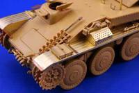 Flakpanzer 38 (Gepard) Exterior for ITA 1/35 Eduard