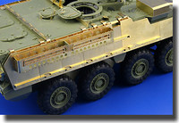 M1126 Stryker Mounted Rack & Belts for AFV 1/35 Eduard
