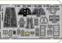 A7D Interior Detail Set for HBO (Painted Self Adhesive) 1/48 Eduard