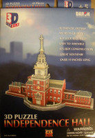 Independence Hall 3D Puzzle Daron