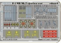 F-4MB Mk 7 Ejection Seat Grey Type for HSG (Painted) 1/48 Eduard