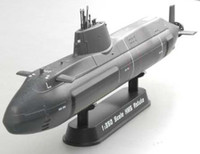 HMS Astute Submarine (Built-Up Plastic) 1/350 Easy Model