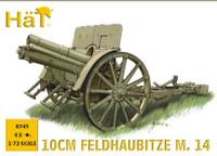 WWI Austrian 10cm M14 Field Gun (4) 1/72 Hat