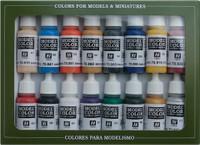 American Civil War Model Color Paint Set (16 Colors)