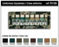 Panzer Aces Color Paint Set #5 17ml Bottle Acrylic (8 Colors: #333-340)