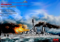 WWI German Kronprinz Battleship 1/350 ICM Models