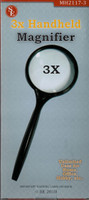 "Round Glass Magnifier 3""  3x Power"
