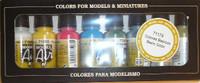 Basic Model Air Color Paint Set (8 Colors) 17ml Bottle Acrylic