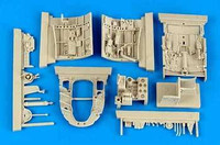 A6M5 Zero Fighter Cockpit Set (For Tamiya) (Resin) 1/32 Aires