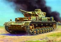 Pz IV Ausf D Tank (Snap Kit) 1/100 Zvezda