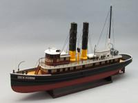 """George W. Washburn Tug Boat Kit 30"""" 1/48 Dumas"""