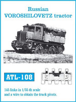 Russian Voroshilovets Tractor Track Link Set (145 Links) 1/35 Fruilmodel