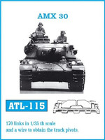 AMX30 Tank Track Link Set (170 Links) 1/35 Fruilmodel
