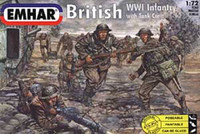 British Infantry WWI 1/72 Emhar