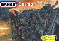 German Infantry WWI 1/72 Emhar
