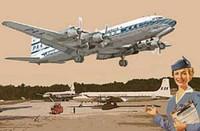 DC-7C Pan American 1/144 Roden