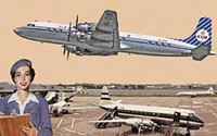 DC-7C Royal Dutch Airlines 1/144 Roden