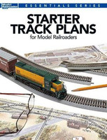 Essentials Series: Starter Track Plans for Model Railroaders Book Kalmbach