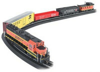 HO Rail Chief Train Set HO Bachmann
