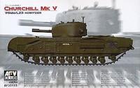 Churchill Mk V British Infantry Tank w/95mm/L23 Howitzer Gun 1/35  AFV Club
