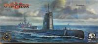 USN Guppy II Class Submarine 1/350 AFV Club