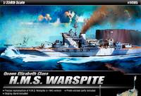 HMS Warspite Queen Elizabeth Class Battleship 1/350 Academy