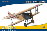 Fokker D VII (MAG) BiPlane Fighter (Weekend Edition Plastic Kit) 1/48 Eduard