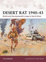 Warrior: Desert Rat 1940-43 - British & Commonwealth Troops in North Africa Osprey Books