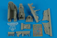A-4E/F Skyhawk Cockpit Set (For Tru) 1/32 Aires