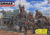 German 76Mm Gun WWI 1/72 Emhar