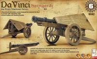 """DaVinci Spingarde Field Artillery Gun (Approx 12"""" L) (Snap Kit) Academy"""