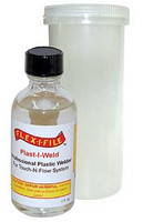 Plast-I-Weld Solvent Cement 2oz. Bottle FLEX-I-FILE