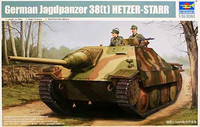 German Jagdpanzer 38(t) Hetzer STARR Tank 1/35 Trumpeter