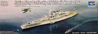 RN Vittorio Veneto Italian Navy Battleship 1940 1/700 Trumpeter
