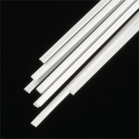.010 x .060 Rectangular Rods Styrene (10) Plastruct Supplies