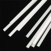 .010 x .100 Rectangular Rods Styrene (10) Plastruct Supplies