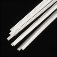 1/16 x 1/32 Fineline I-Beams Styrene (10) Plastruct Supplies