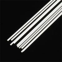 .020 x .030 Rectangular Rods Styrene (10) Plastruct Supplies