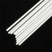 .020 x .040 Rectangular Rods Styrene (10) Plastruct Supplies