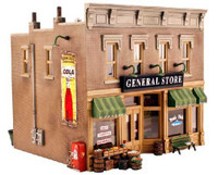 Built-N-Ready Lubener's General Store O Scale Woodland Scenics