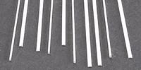.030 x .040 Rectangular Rods Styrene (10) Plastruct Supplies
