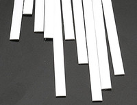 .040 x 1/4 Rectangular Rods Styrene (10) Plastruct Supplies
