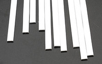 .060 x 1/4 Rectangular Rods Styrene (10) Plastruct Supplies