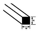 .060 Square Rods Styrene (10) Plastruct Supplies