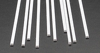 .080 x .100 Rectangular Rods Styrene (10) Plastruct Supplies