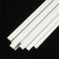 .080 x 5/32 Rectangular Rods Styrene (10) Plastruct Supplies