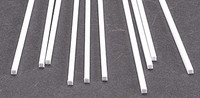 .100 x Square Rectangular Rods Styrene (10) Plastruct Supplies