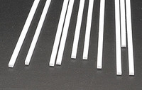 .100 x 1/8 Rectangular Rods Styrene (10) Plastruct Supplies