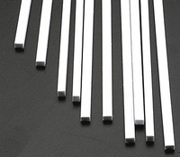 1/8 x 5/32 Rectangular Rods Styrene (10) Plastruct Supplies