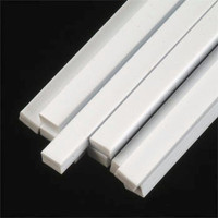 1/8 x 3/16 Rectangular Rods Styrene (10) Plastruct Supplies